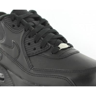 air max 90 cuir noir