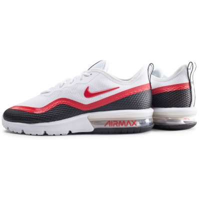 basket nike air max homme rouge