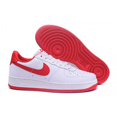 nike air force 1 femme blanche et rouge