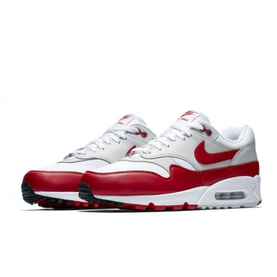nike air max 1 rouge et blanc