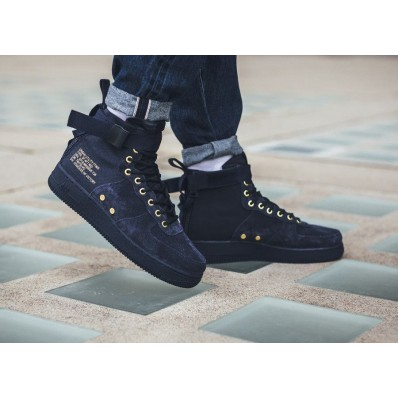 nike sf air force 1 mid homme