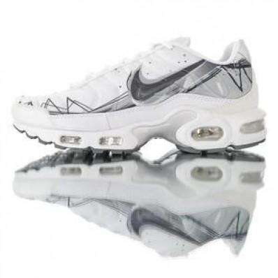 chaussure nike tn blanche