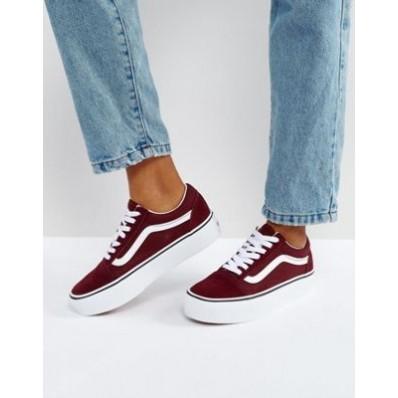 chaussure vans femme rose