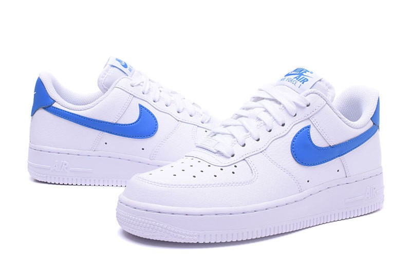 air force 1 femme bleu et blanche