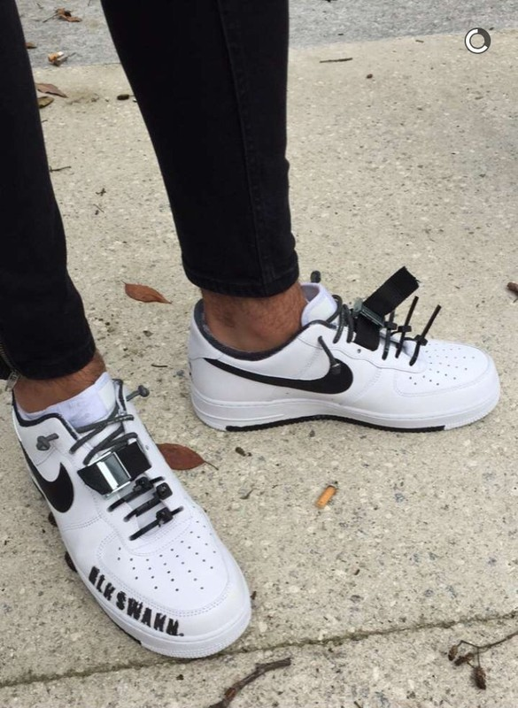 air force 1 custom homme