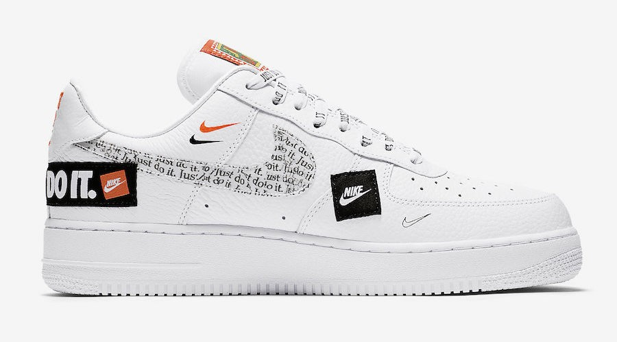 chaussure nike air force 1 femme just do it