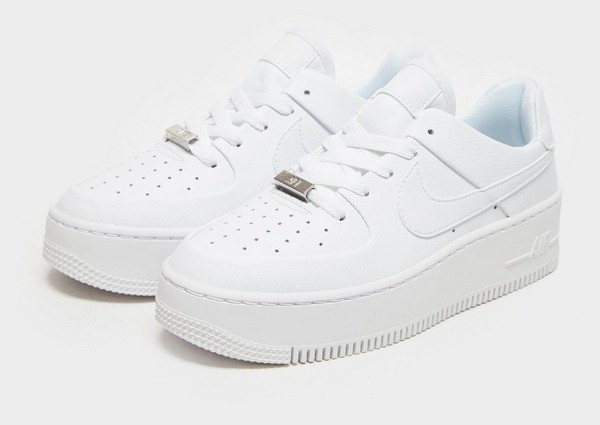 air force 1 plateforme femme blanche