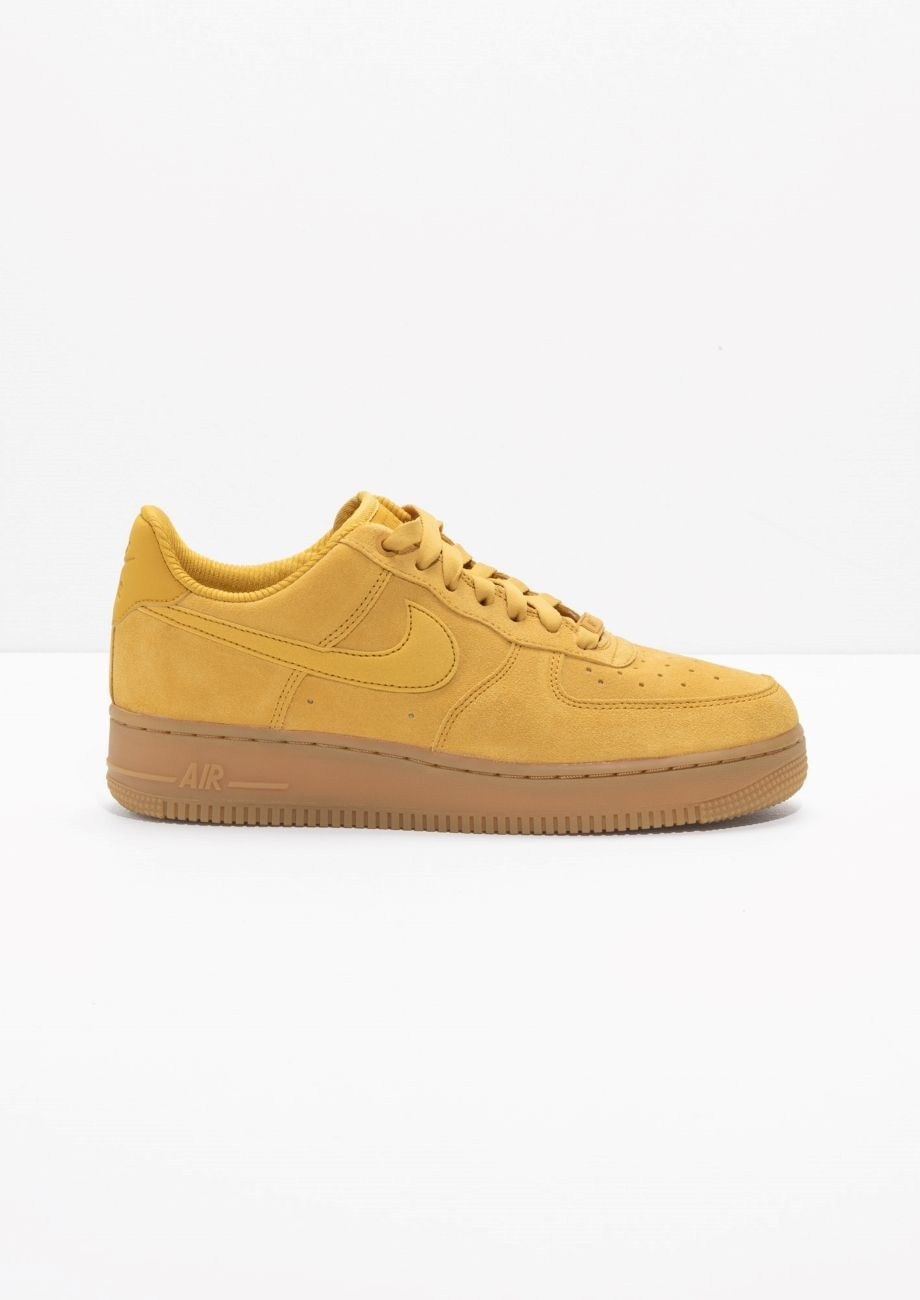 air force 1 femme moutarde