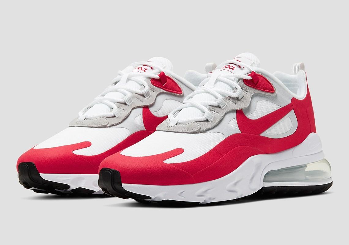 air max 270 blanche et rouge