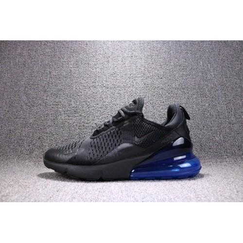 chaussure air max 270 noir bleu