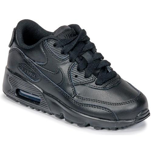 air max 90 leather noir