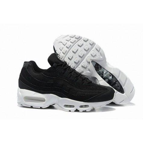 air max 95 blanc noir