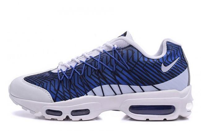 air max 95 blanc et bleu