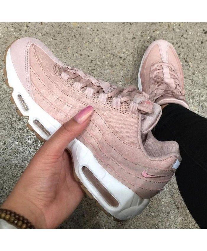 chaussure nike air max 95 femme rose