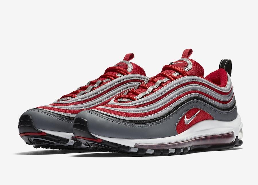 air max 97 gris et rouge