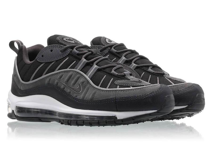air max 98 noir et gris