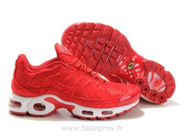 air max femme rouge