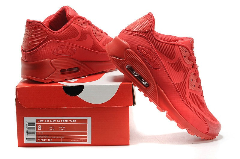 air max rouge 90 hommes
