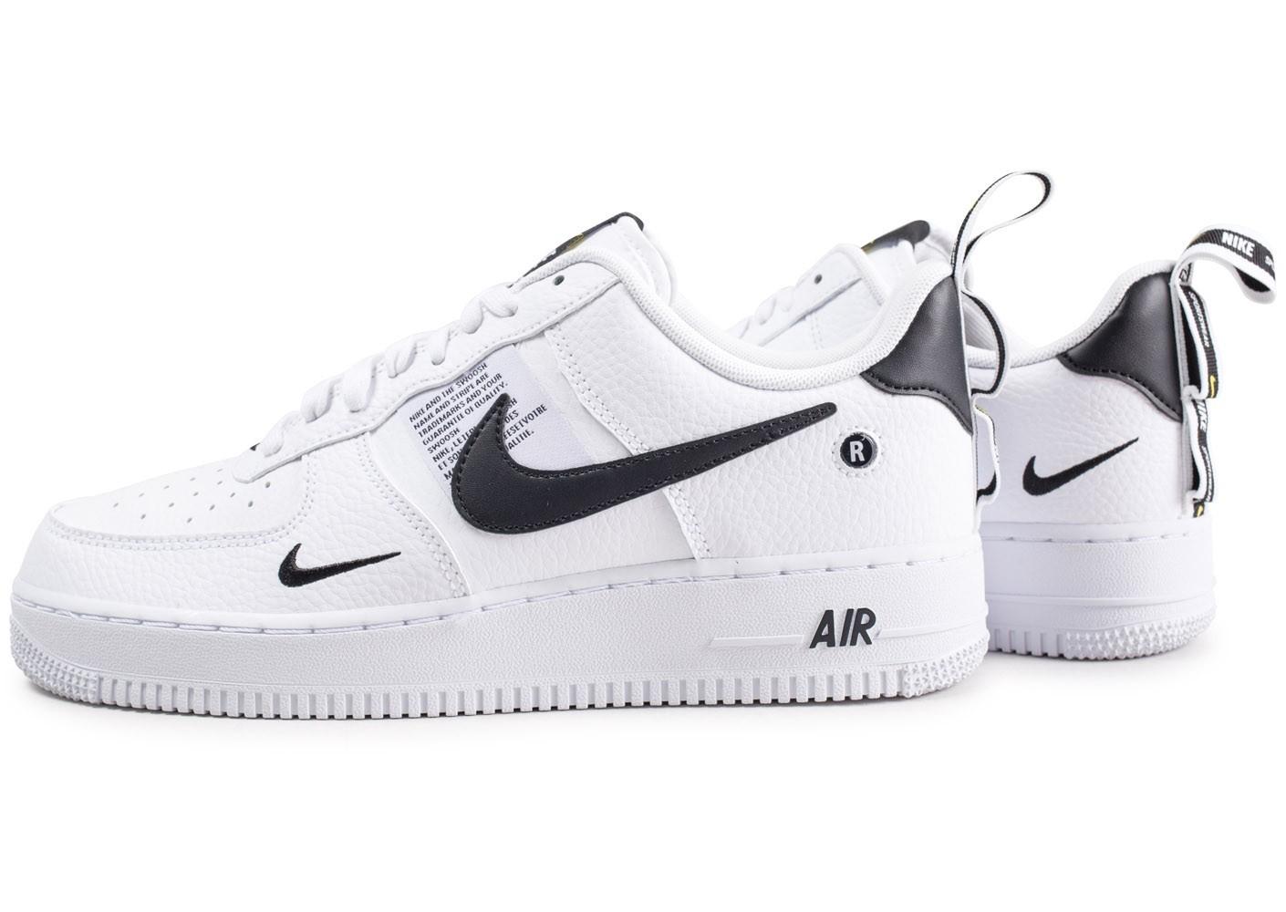 basket air force 1 noir et blanche