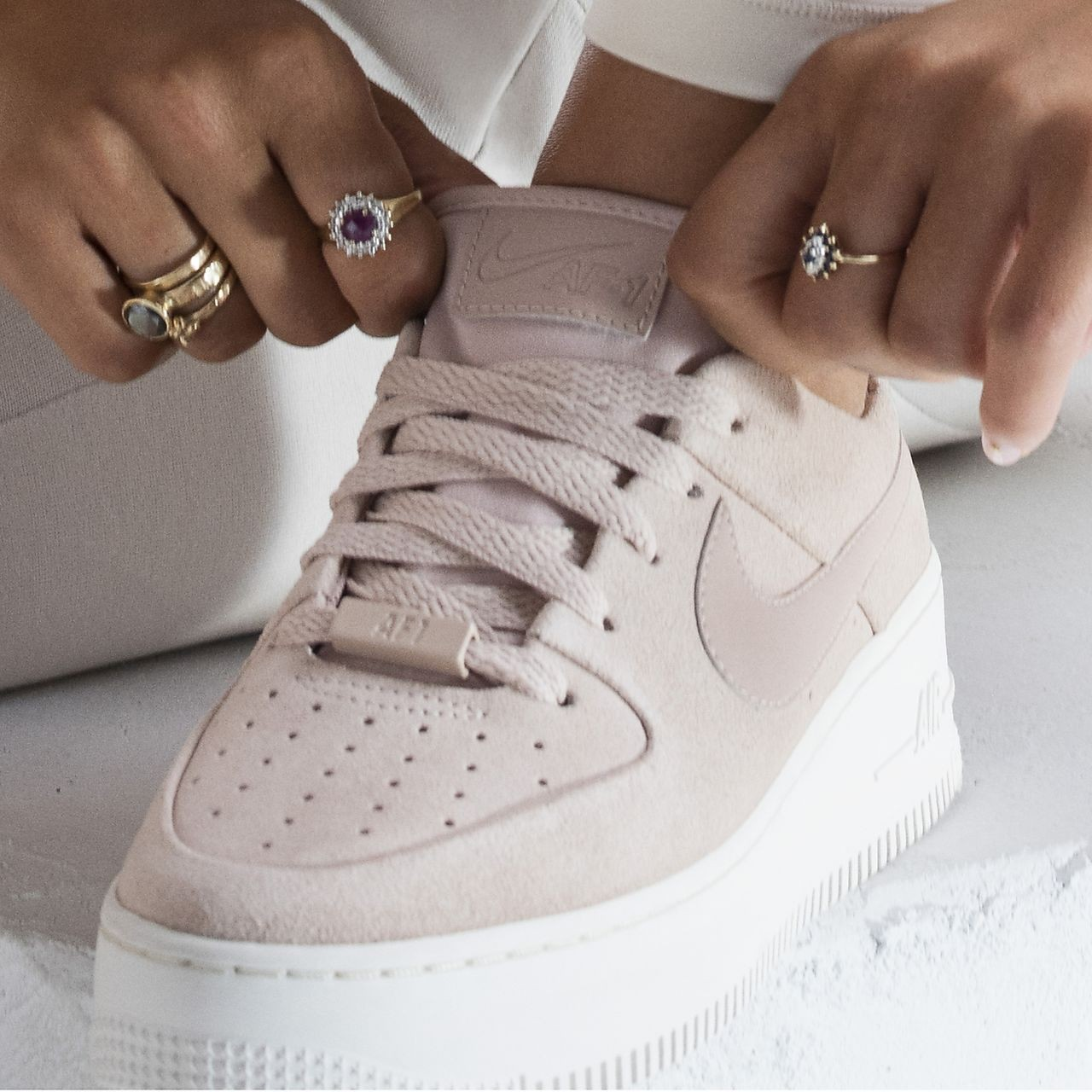 basket enfant fille air force 1