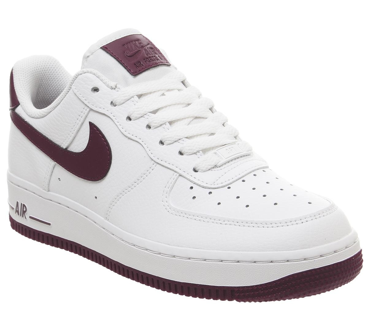 air force 1 femme bordeau