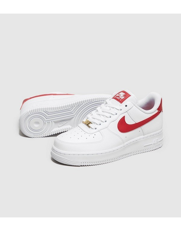 air force 1 blache et rouge
