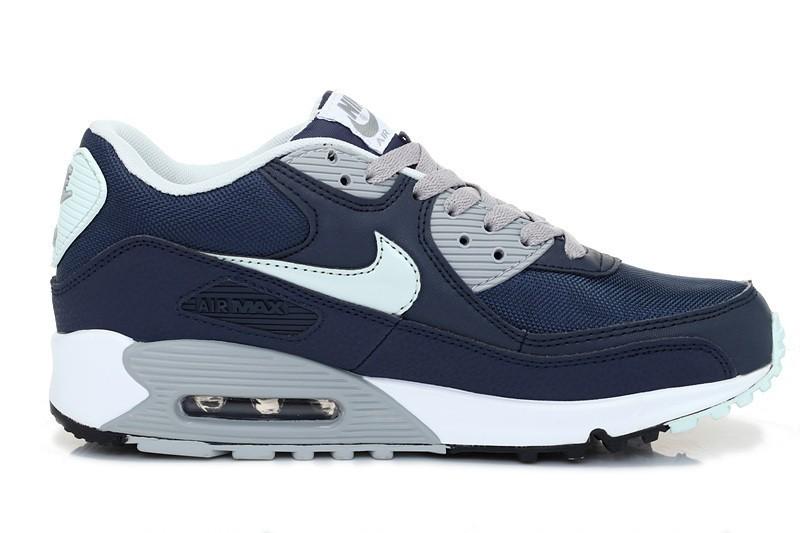 chaussure nike air max 90 bleu homme