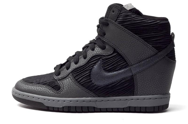 Basket femme Nike compensée Vinted