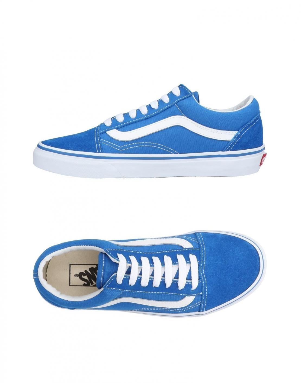 chaussure vans femme bleue