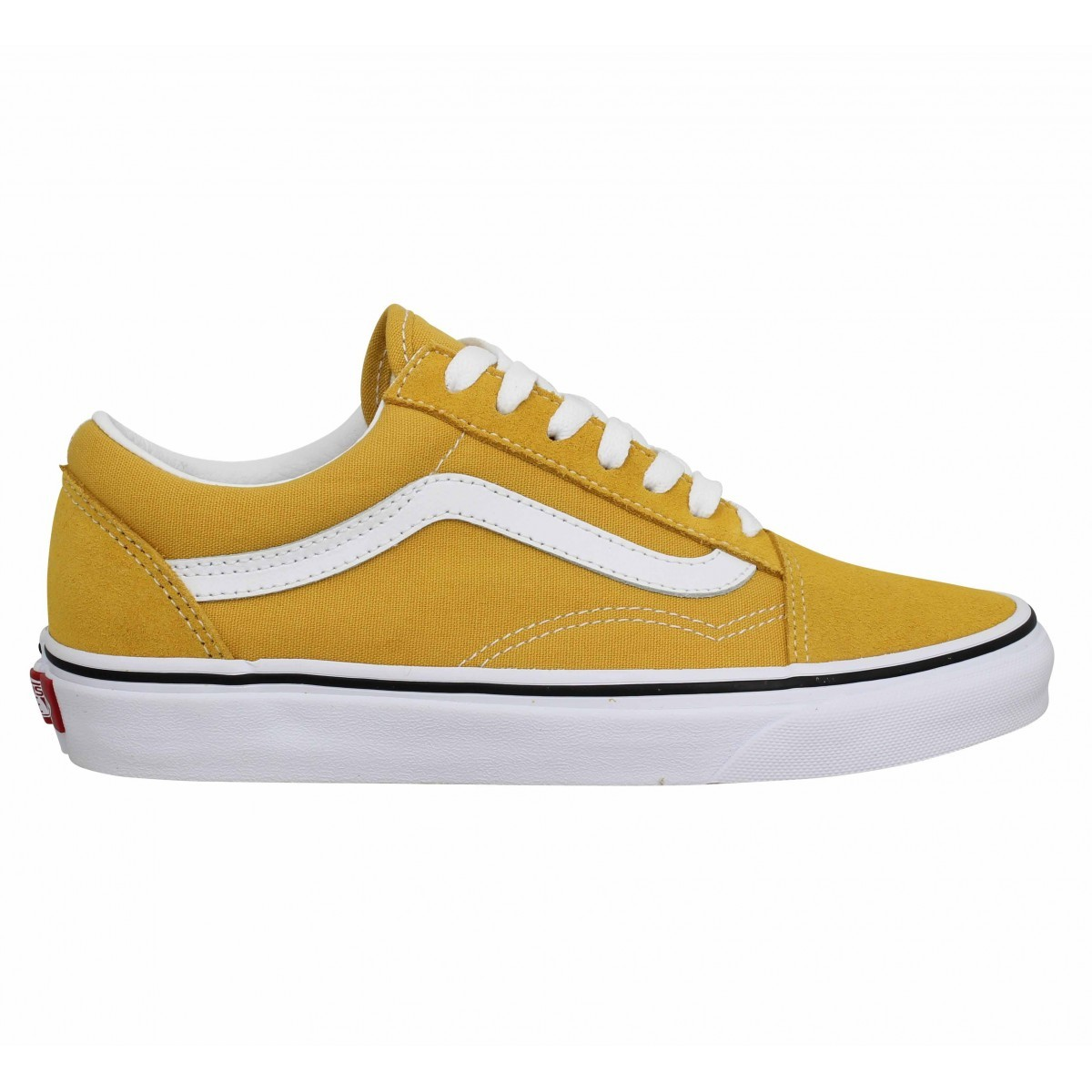 chaussure vans jaune femme