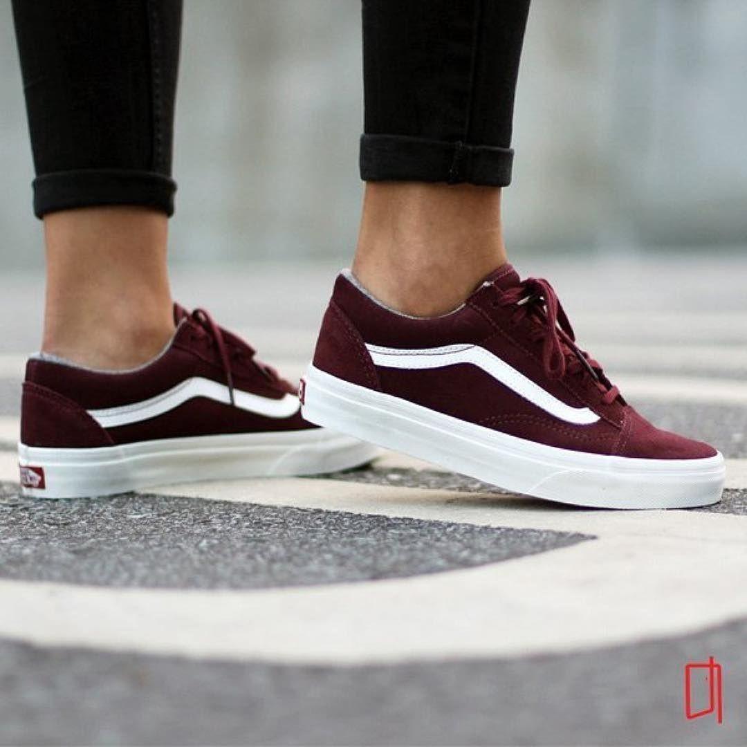 chaussure vans femmes bordeau