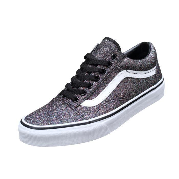 vans glitter chaussures femme