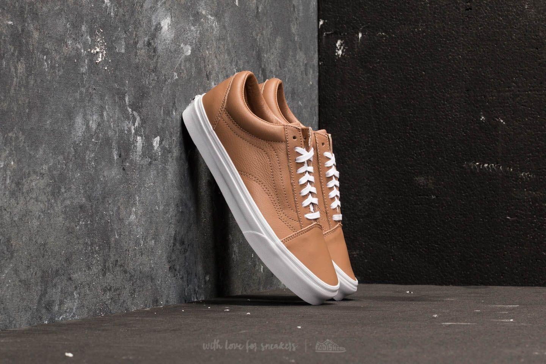 chaussure vans old skool marron