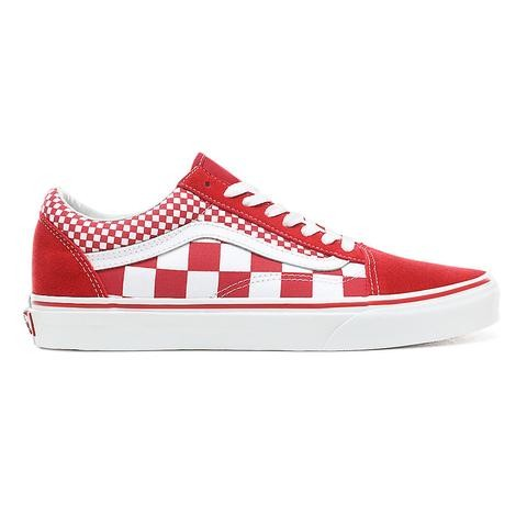 chaussures vans rouge homme