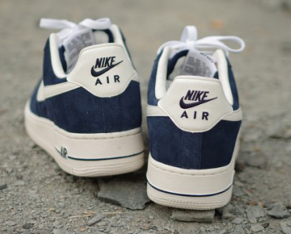 air force 1 bleu marine daim