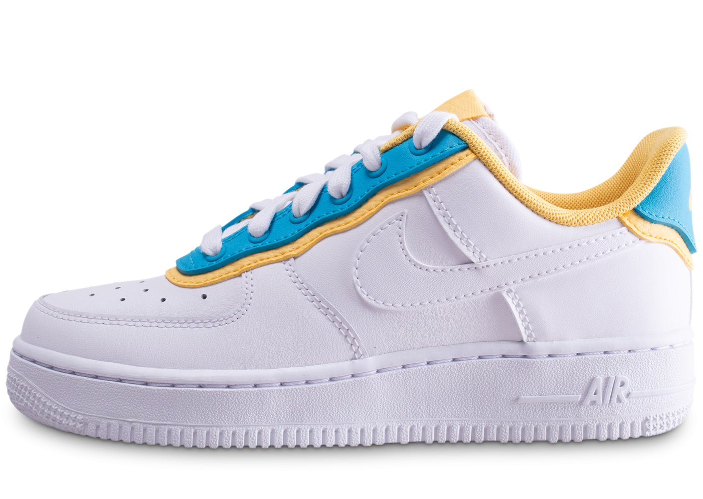 air force one jaune et blanche femme