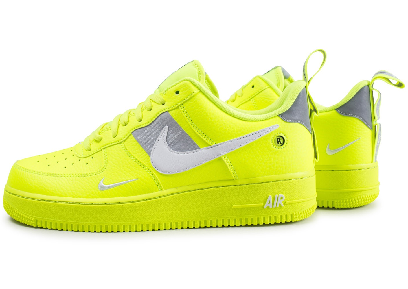 air force one blanche et jaune femme