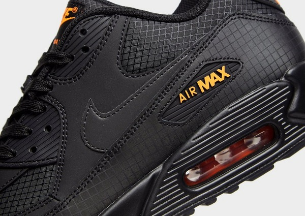 air max homme noir et orange