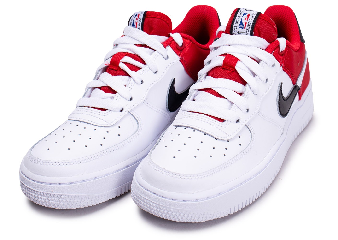 nike air force 1 rouge et blanc