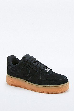 air force one suede noir femme