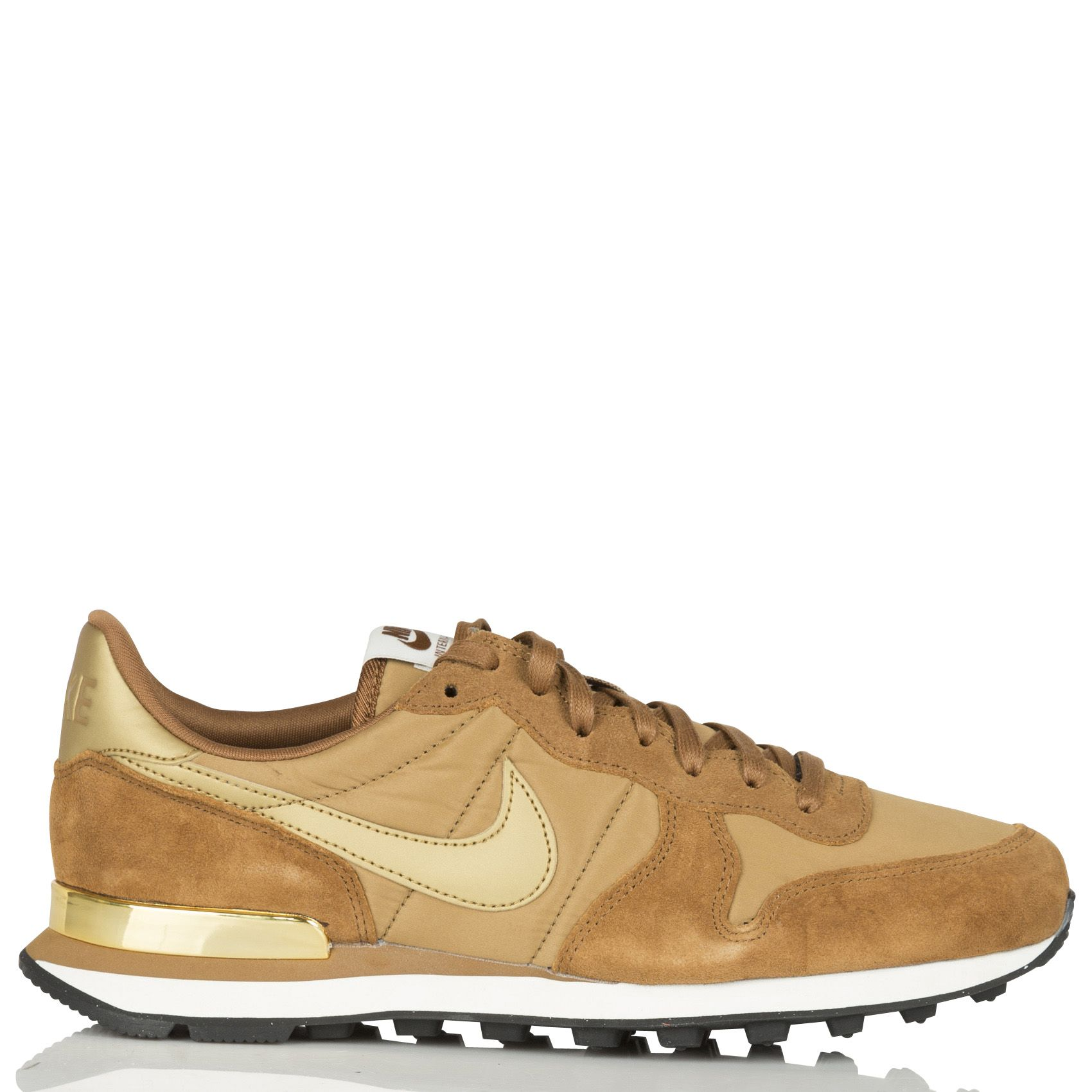 nike internationalist femme marron