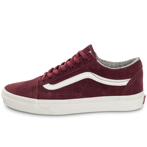 vans old skool platform bordeaux