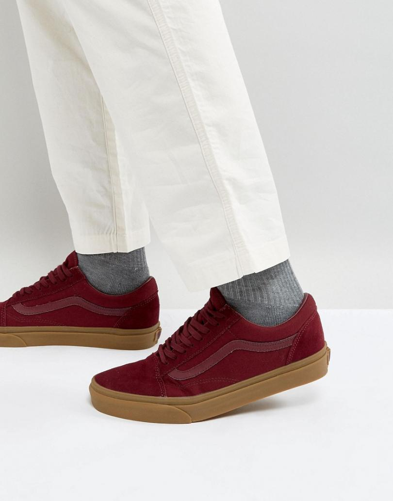 chaussure vans rouge